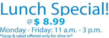 pad thai lunch specials